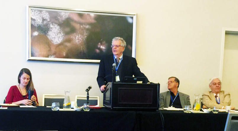 Thomas K. Greenfield presents at the Alcohol Policy Conference